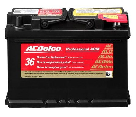 ACDelco AGM Automotive Battery