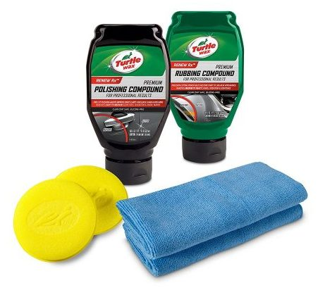 Turtle Wax 50734 Complete Polish & Scratch Kit