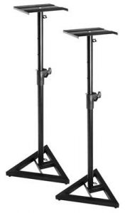 On-Stage SMS6000 Adjustable Monitor Stands (Pair)