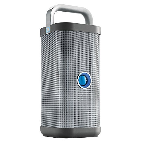 Brookstone Big Blue Party Open-air Speaker - outdoor Bluetooth speaker