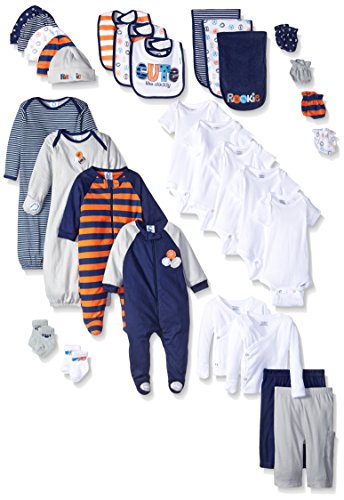 Gerber Registry Essential Gift Set - baby boy layette sets