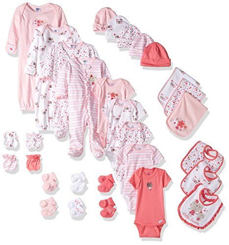 Gerber 30-piece Baby Girl Layette Set - Baby Girl Layette Set