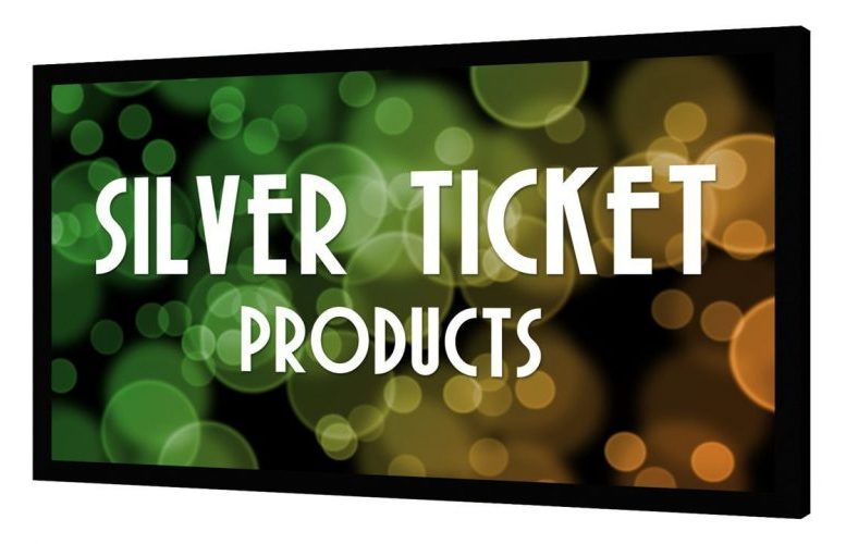 Silver Ticket Products Projection Screen​ - Projector Screen