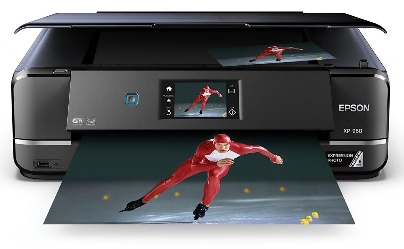 Epson Expression Photo XP-960 Color Photo Printer