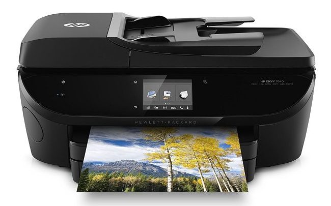 HP Envy 7640 Wireless Photo Printer