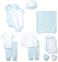 Moon & Back Baby Organic Layette Set