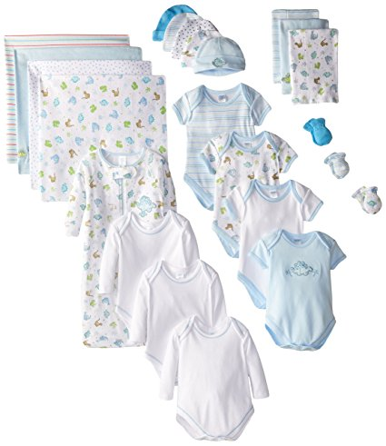SpaSilk Newborn Baby Boys' Layette Set