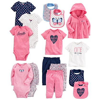 Carter's Baby Girl Layette Set
