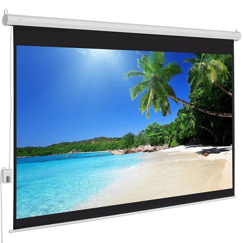 Motorized Projection Screen from Best Choice Products