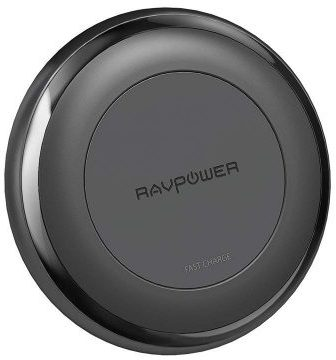 RAVPower Fast Wireless Charger + QC3.0 Adapter