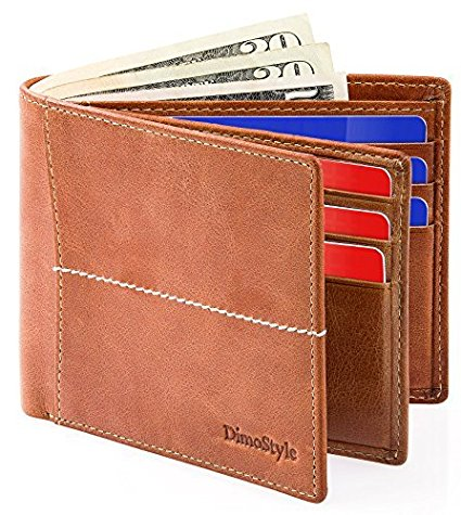 Dimostyle Mens Leather Wallet