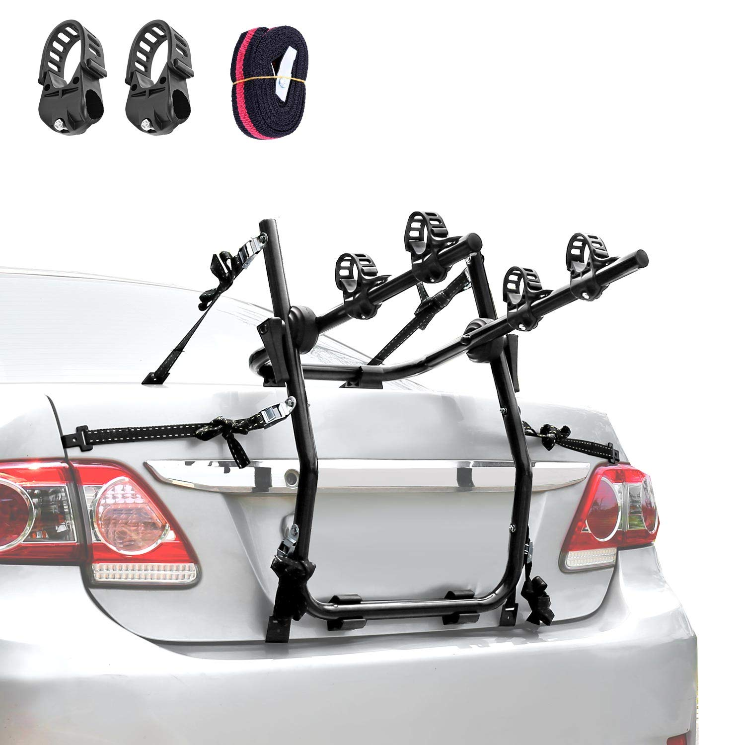 XCAR 2-Bike Trunk Bike Mount Bicycle Rack