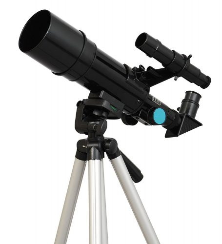 Black TwinStar Kids Telescope