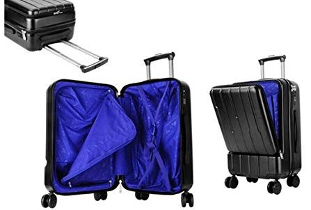 Trend-Matters Carry On Suitcase