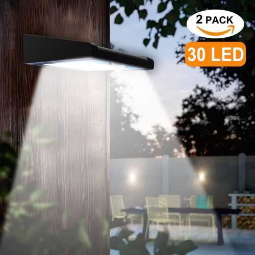 Avaspot Two Pack Outdoor Solar Light