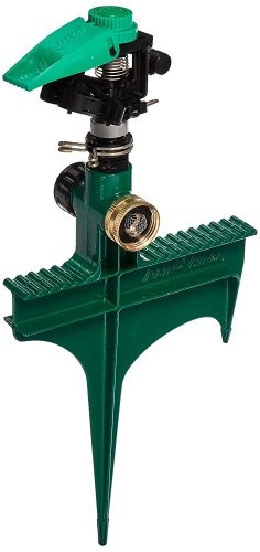 Rain Bird Sprinkler with Metal Spike