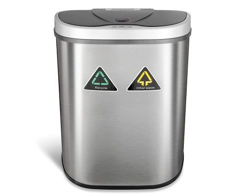 Ninestars DZT-70-11R Automatic Trash Can