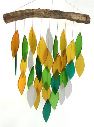 Glass Waterfall Wind Chime