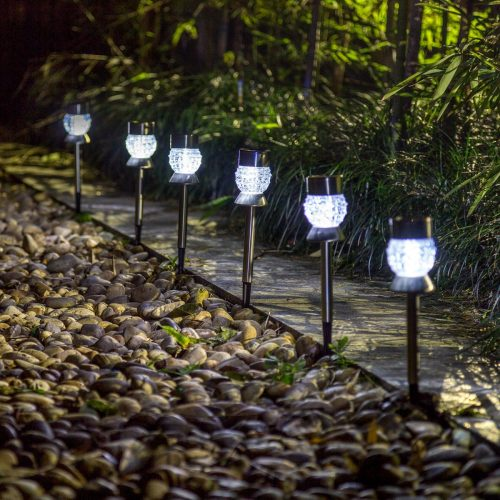 GIGALUMI Outdoor Solar Path Lights