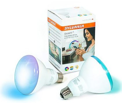 Sylvania Smart+ Two Pack Light Bulb - Smart Light Bulbs Alexa