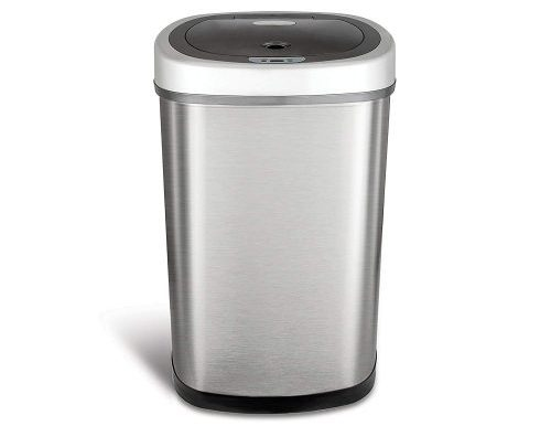 Ninestars DZT-50-9 Oval Trash Can