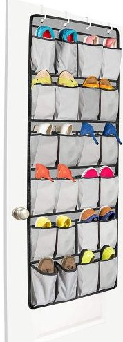 UNJUMBLY Over The Door Shoe Organizer