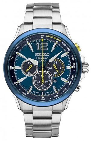 Seiko Jimmie Johnson Watch Limited Edition - Men Chronograph Watches