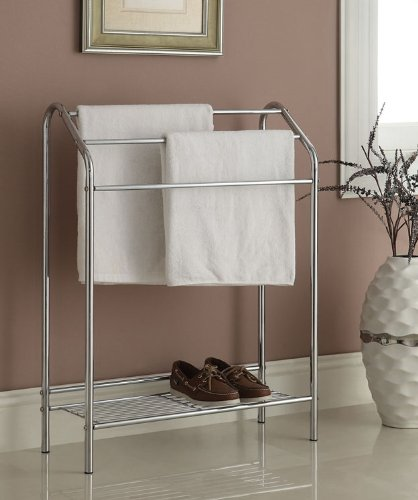 eHomeProducts Chrome Finish Towel Rack