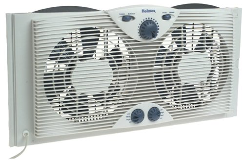 Holmes Window Fan with Comfort Control Thermostat