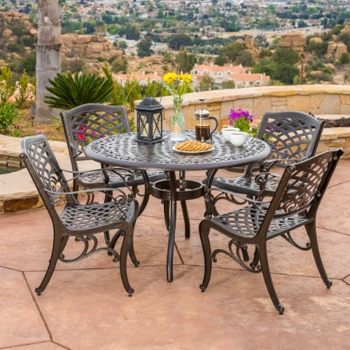 Bronze Terrace Dining Set