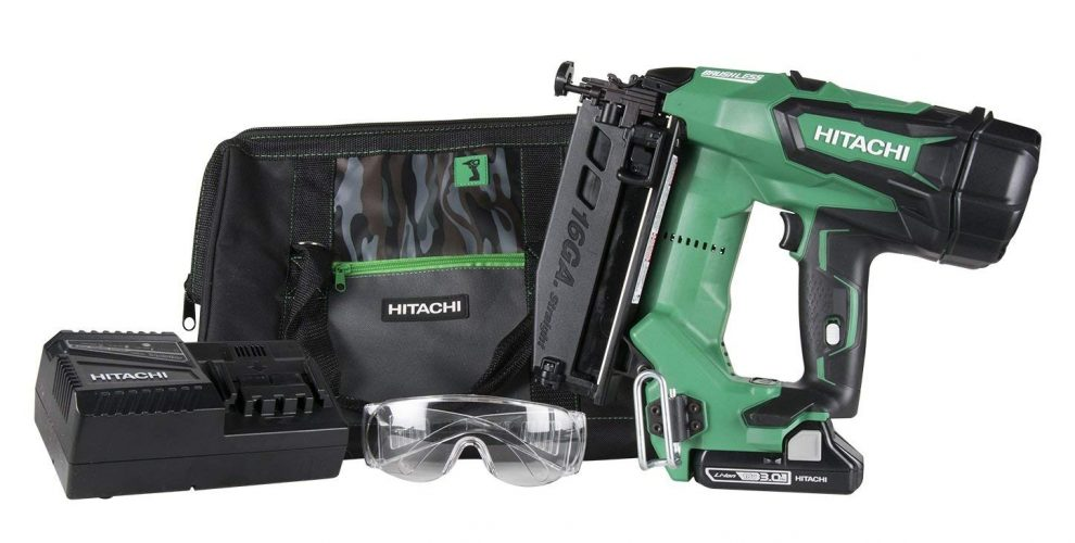 Hitachi NT186DM Straight Finish Nailer