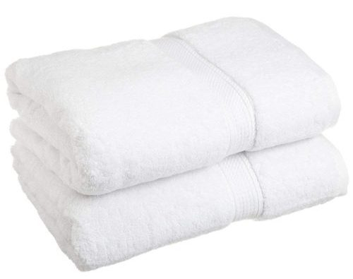 Egyptian Cotton Two-Piece Bath Towel Set