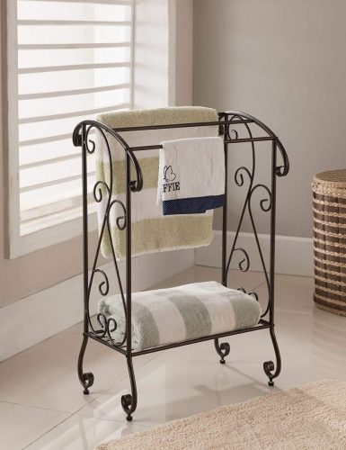 Kings Brand Coffee Brown Towel Rack