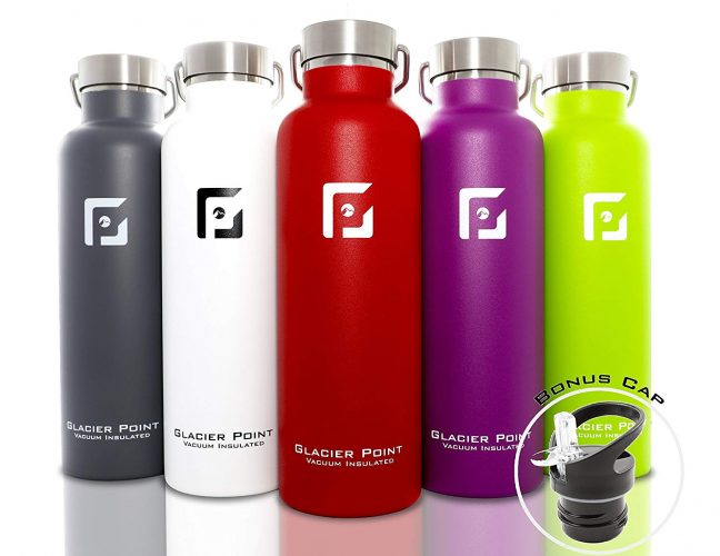 Glacier Point Vacuum Insulated Water Bottle