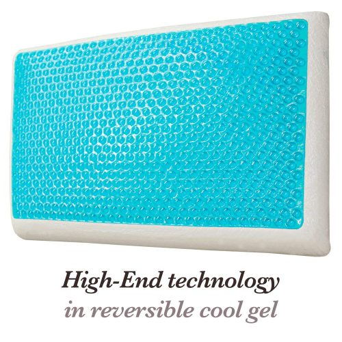 Over The Floor Cool Gel and Memory Foam Pillow