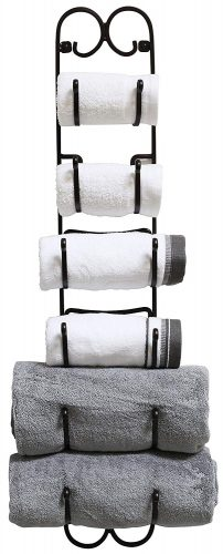 DecoBros Wall Mount Multi-Purpose Towel Rack