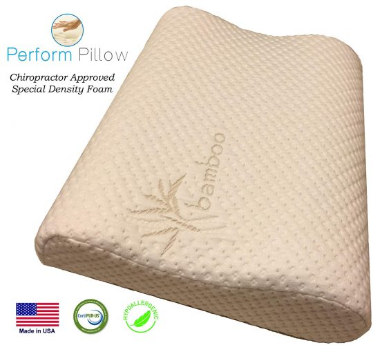 Perform Low Profile Neck Pillow - Orthopedic Pillows