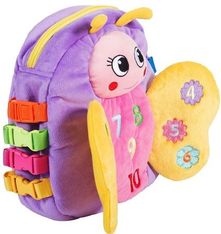 BUCKLE TOY Backpack្ - Cute Backpacks for Tots
