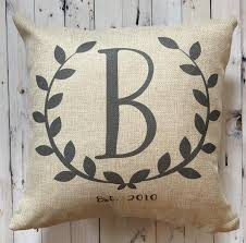 Farmhouse Last Name Pillow
