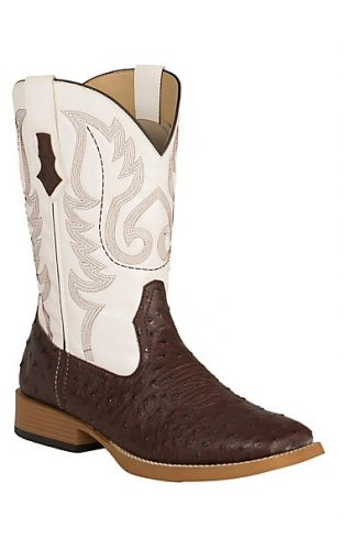 Roper Square Toe Western Boot