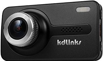 KDLINKS X1 GPS Enabled Dashboard Camera Recorder