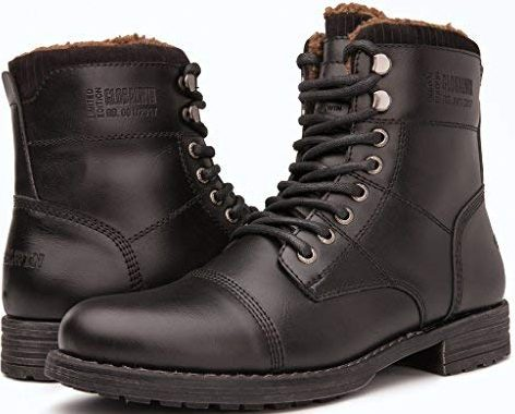 Men's Combat Boot by Global Win