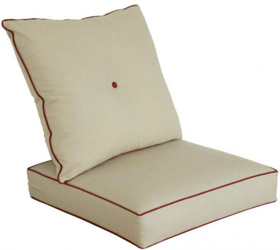 Bossima Outdoor Seat Cushion Set