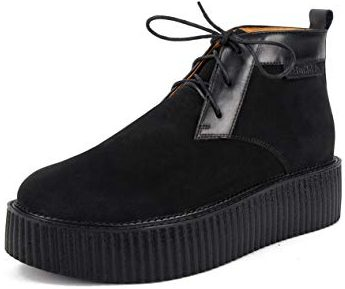 RoseG Derby Creepers Martin Boots