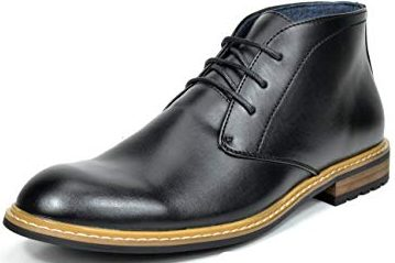 Bruno Marc Bergen Oxford Dress Ankle Boot - Men Oxford Derby Boots