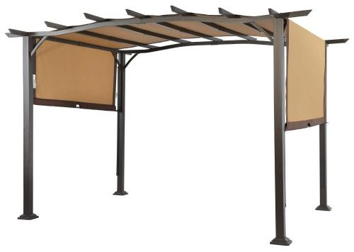 LCD Pergola with Steel Frame