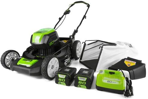 GreenWorks PRO Electric Lawn Mower