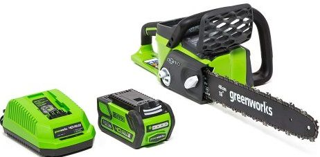 Greenworks Cordless Chainsaw - Electric Chainsaws