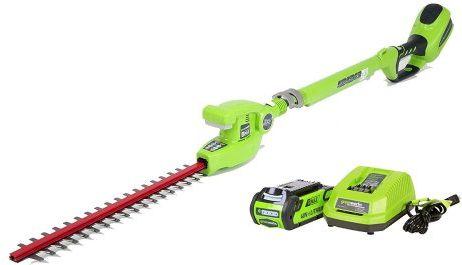 GreenWorks G-MAX Pole Hedge Trimmer