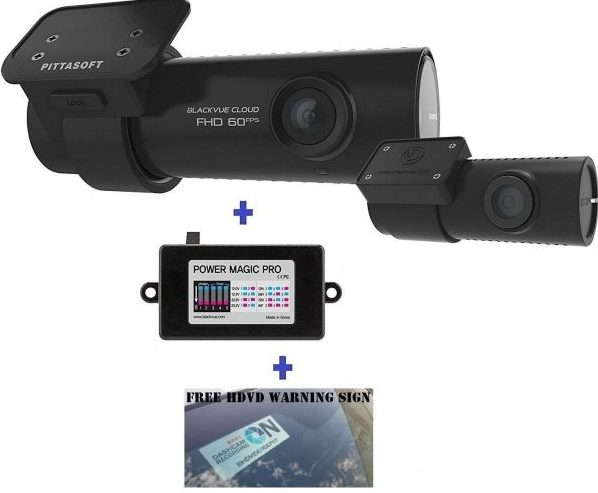 BlackVue DR750S Front and Rear Dash Cam